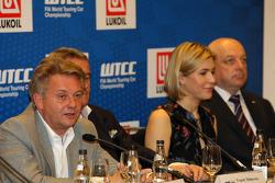 Press conference, Evgeny Malinovskiy, Lukoil Racing Team Director