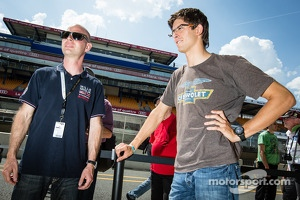 Jan Magnussen and Jordan Taylor