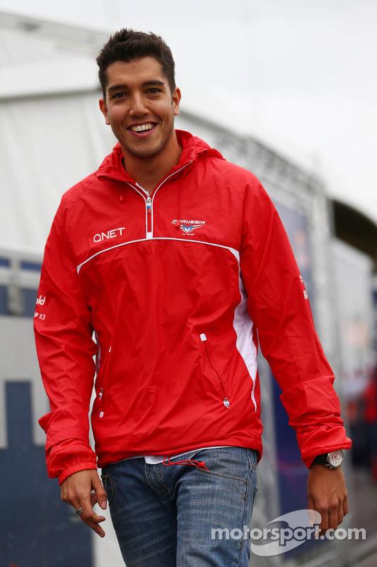 Rodolfo Gonzalez, piloto reserva da Marussia F1 Team