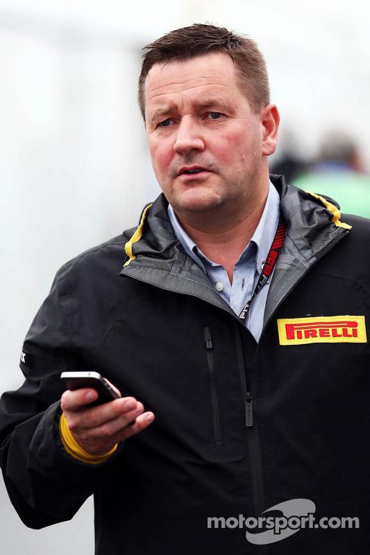 Paul Hembery, Diretor Esportivo da Pirelli
