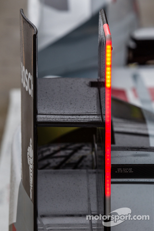 #2 Audi Sport Team Joest Audi R18 e-tron quattro rear light detail