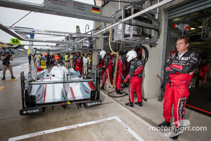 Audi Sport Team Joest technical director Ralf Jüttner