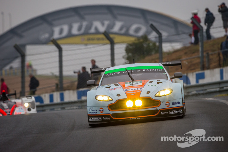 #99 Aston Martin Racing Aston Martin Vantage GTE: Rob Bell, Frédéric Makowiecki, Bruno Senna, Jonny