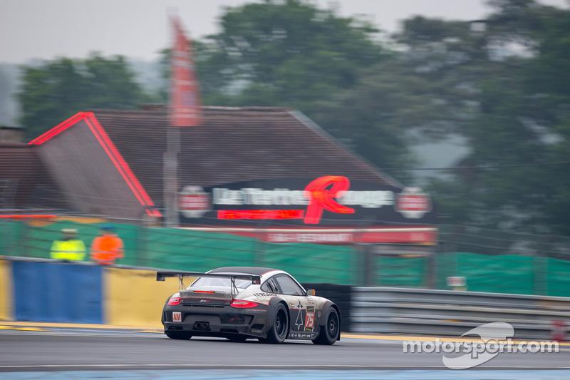 #75 ProSpeed Competition Porsche 911 GT3-RSR: Emmanuel Collard, François Perrodo, Sébastien Crubilé