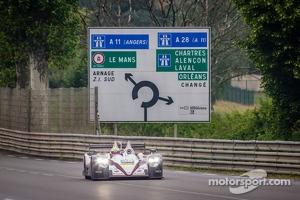 #38 Jota Sport Zytek Z11SN-Nissan: Lucas Luhr, Simon Dolan, Oliver Turvey