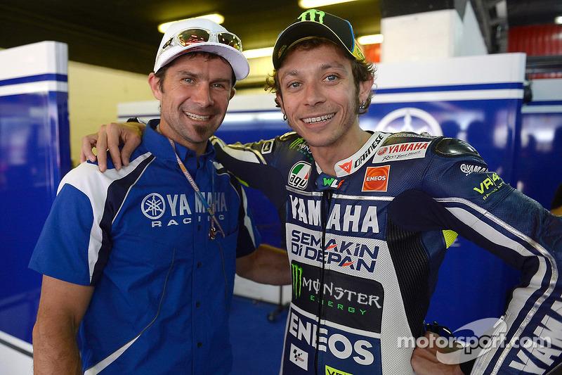 Cyril Despres en Valentino Rossi