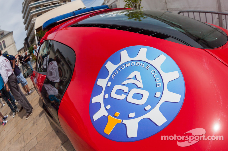 ACO logo op de Audi R8
