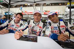 Nicolas Lapierre, Alexander Wurz, Kazuki Nakajima