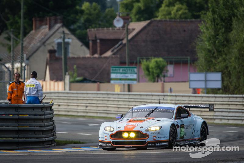 #98 Aston Martin Racing Aston Martin Vantage GTE: Bill Auberlen, Paul Dalla Lana, Pedro Lamy