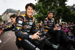 Shinji Nakano, Tor Graves and Archie Hamilton