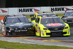 Max Papis and Sam Hornish Jr.