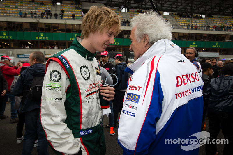 Brendon Hartley en Hugues de Chaunac