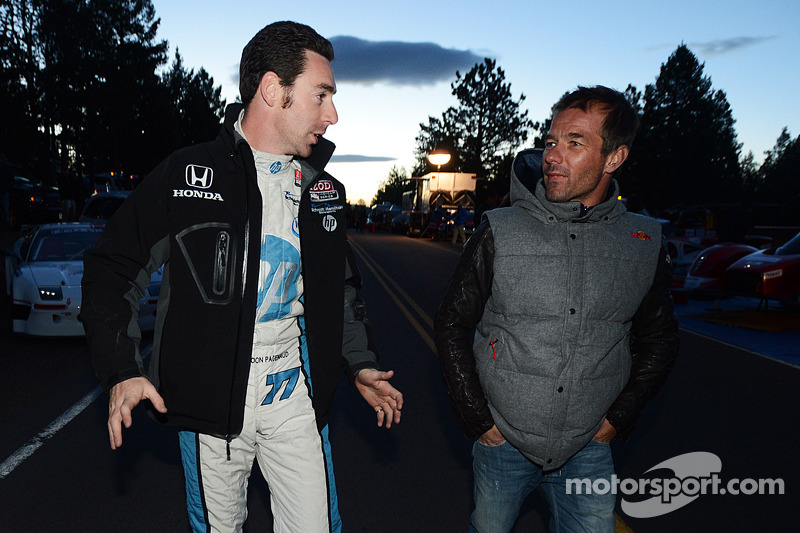 Simon Pagenaud and Sébastien Loeb