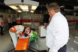 James Rossiter, Sahara Force India F1 VJM06 Simulator Driver.