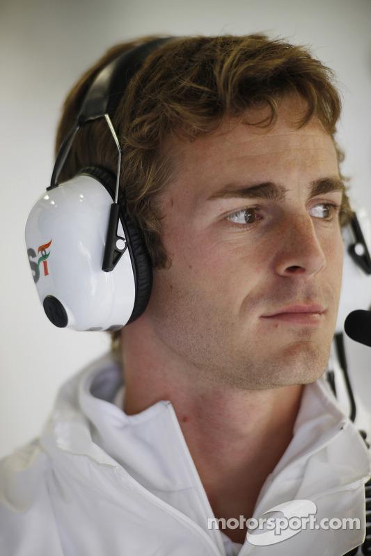 James Rossiter, Sahara Force India Piloto de Simulador