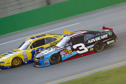 Austin Dillon and Sam Hornish Jr.