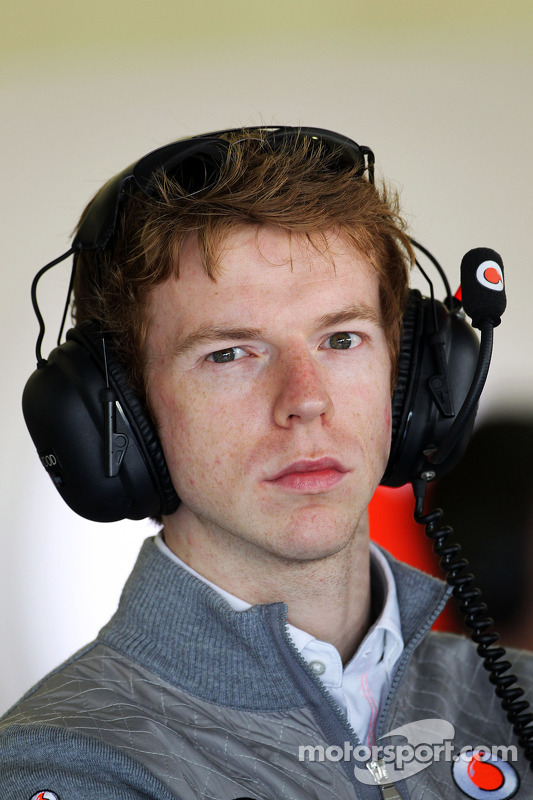 Oliver Turvey, McLaren piloto de testes