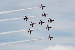 Red Arrows air display