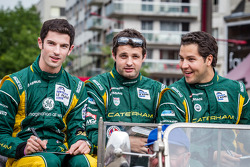 Alexander Rossi, Tom Kimber-Smith e Eric Lux