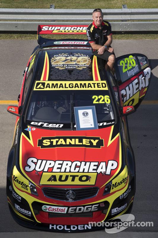 Russell Ingall, Supercheap Auto Racing faz sua largada 226