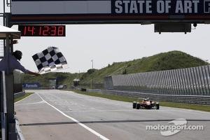 Felix Rosenqvist takes the win