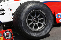 The used tyres of Johnny Cecotto