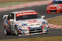 Ex Laurent Aiello BTCC championship winning 1999 Super Touring Nissan Primera driven by James Dodd