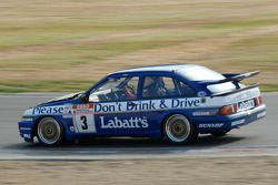 Ex Tim Harvey Ford Sierra RS500 conduzido por Paul Smith