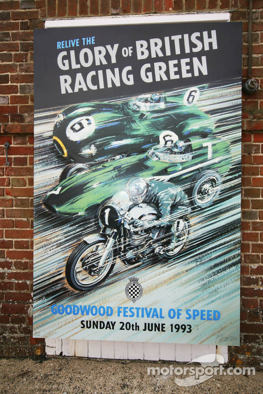 Poster do primeiro Festival of Speed, em 1993