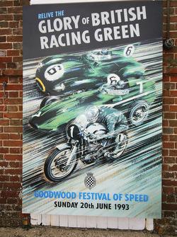 Poster do primeiro Festival of Speed, em 1993