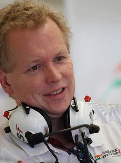 Andrew Green, diretor técnico da Sahara Force India F1