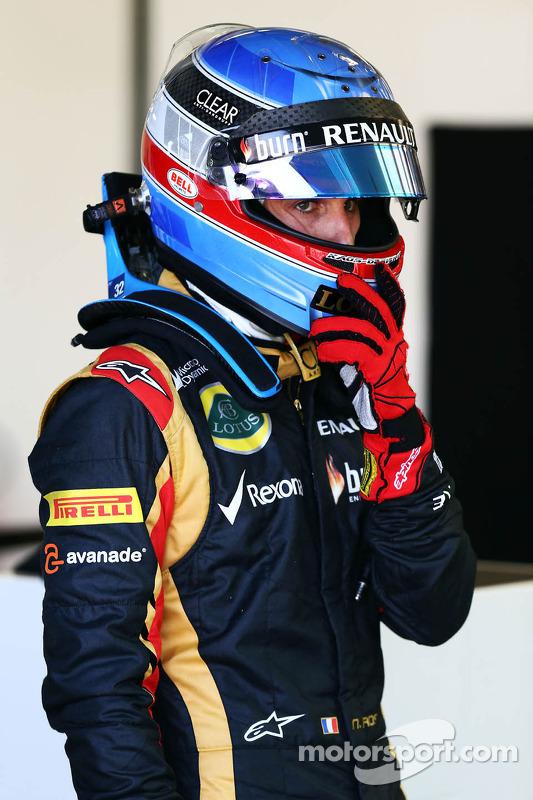 Nicolas Prost, Lotus F1 piloto de testes
