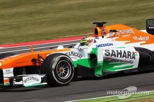 James Calado, Sahara Force India VJM06, Young Drivers Test at Silverstone