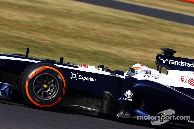 Daniel Juncadella, Williams FW35 Test Driver