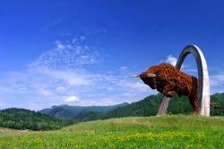 Red Bull Ring estátuas