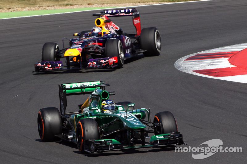 Charles Pic, Caterham CT03 voor Sebastian Vettel, Red Bull Racing RB9