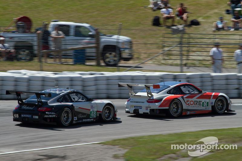 #48 Paul Miller Racing and #06 CORE Autosport through Moss Corner