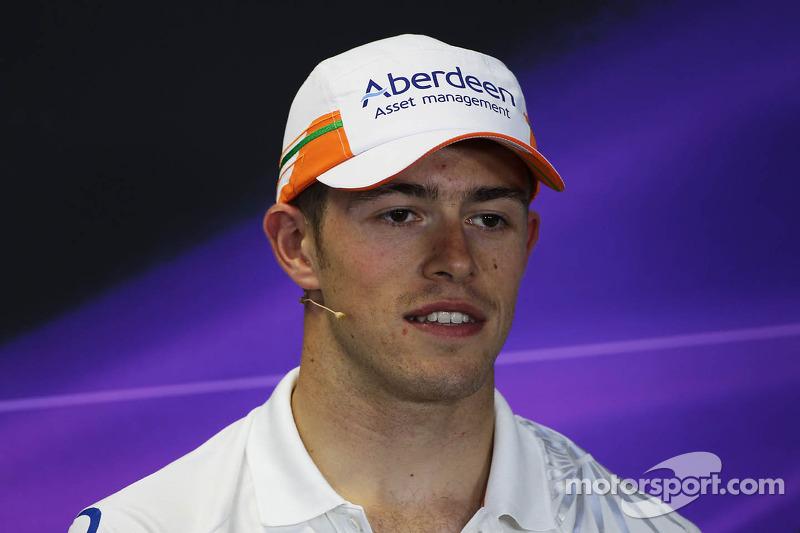 Paul di Resta, Sahara Force India F1 in the FIA Press Conference