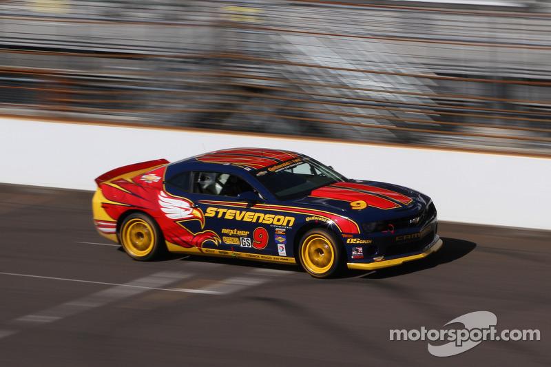 #9 Stevenson Motorsports: Matt Bell, John Edwards