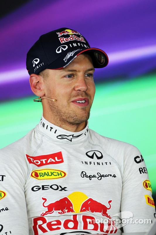 Sebastian Vettel, Red Bull Racing na coletiva da FIA