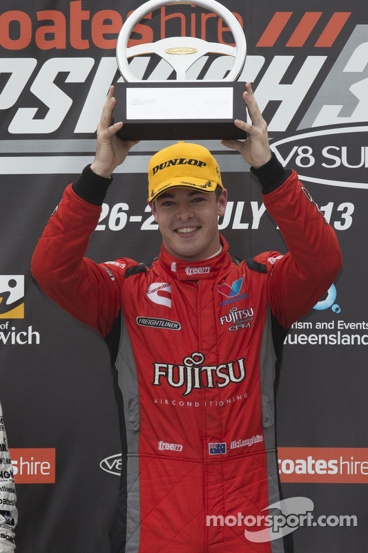 Racewinnaar Scott McLaughlin, Team Fujitsu