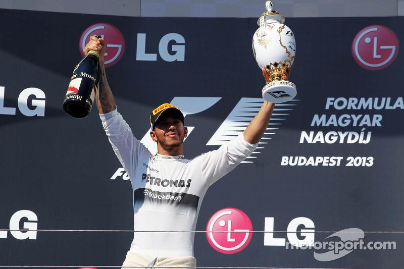 Lewis Hamilton, ganador del GP de Hungría 2013