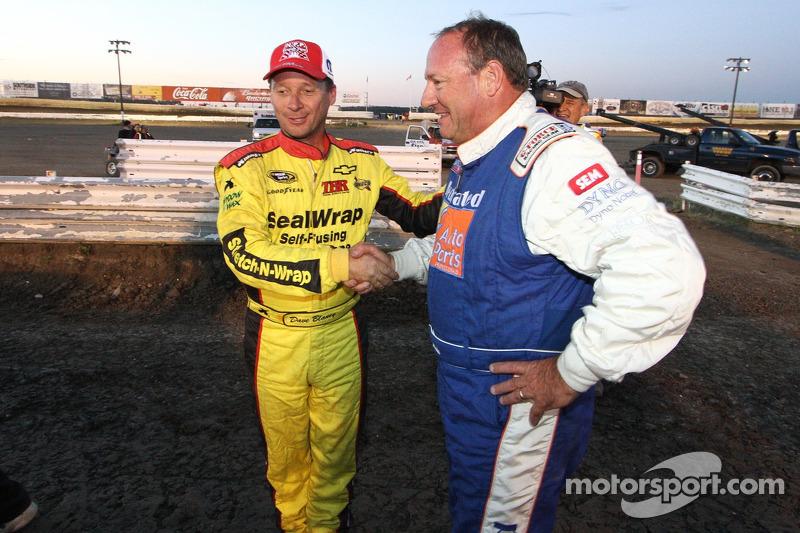 Dave Blaney en Ken Schrader
