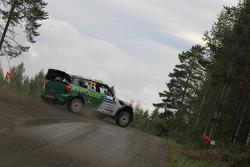 Яркко Каллиолепо и Яркко Никара. Ралли Финляндия, секция 2.