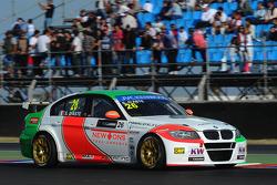 Stefano D'Aste, BMW 320 TC, PB Racing and Grid Girls