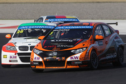 Stefano DAste, BMW 320 TC, PB Racing e Norbert Michelisz, Honda Civic, Zengo Motorsport