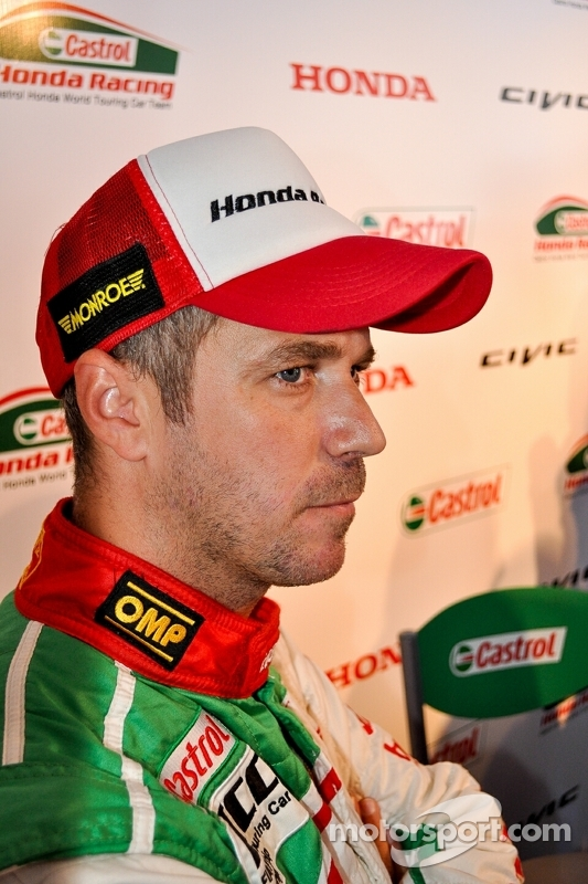 Tiago Monteiro, Honda Civic, Honda Racing Team J.A.S.