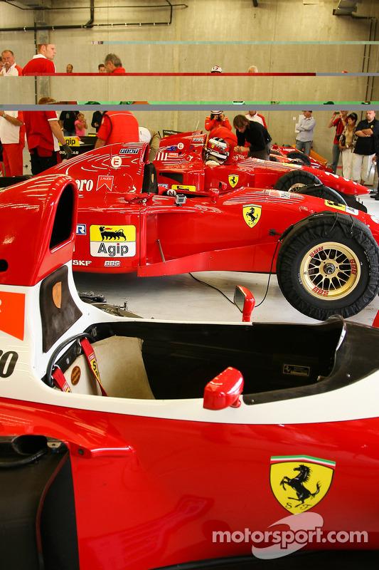 Um raro encontro de Ferraris
