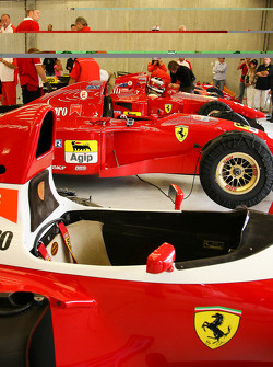 A rarest line-up of Ferrari F1 chassis