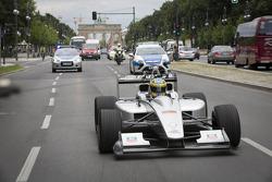 Test driver Lucas di Grassi, Formula E Berlin presentation